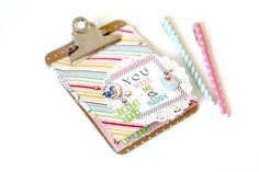 Minicarpeta con minialbum