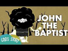 God's Story: John the Baptist Sunday School Crafts For Kids, Sunday School Lessons, Bible Lessons For Kids, Bible For Kids, Teaching Plan, Teaching Kids, Free Bible, Matthew 3, John The Baptist