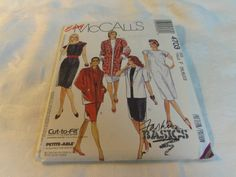 McCall's Sewing Pattern 4703 Misses Unlined by CraftItWithLove