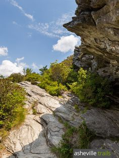 Hike the Table Rock Trail at Linville Gorge north of Asheville, NC