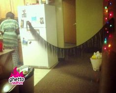 Letting my weave dry for Christmas