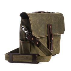 Medium Waxed Canvas Gear Bag $350 LENS BAG?