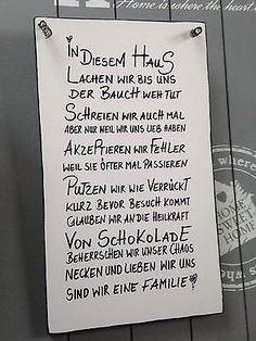 💗💗HAUS💗💗Wandschild Deko Shabby Vintage Tafel Türschild in Möbel & Wohnen, Dekoration, Schilder & Tafeln | eBay!