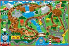 Thomas & Friends Area Rug Thomas & Friends http://www.amazon.com/dp/B00KWJLK7G/ref=cm_sw_r_pi_dp_jahQub0F4XQBN