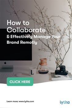 How do you make sure you #collaborate and manage your brand #effectively while working remotely? In a series of videos, Fleur Elise Muller – Account Executive at Lytho, shares some tips, #tools and tricks so you and your team can be more #efficient and stay on brand during these trying times. Everyone is forced to work from home right now, which is a new situation to many if not all of us. #brandmanagement #brandvisibillity #teamcollaboration