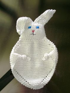 Ravelry: Bunny Blanket Buddy (Knit) #50722 by Lion Brand Yarn