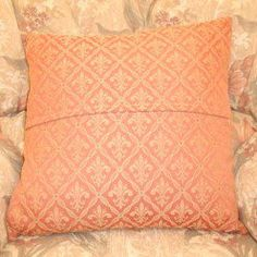 How to Sew a Simple Envelope Cushion Cover
