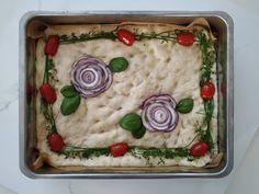 kukkafocaccia Hummus, Ethnic Recipes, Food, Essen, Meals, Yemek, Eten
