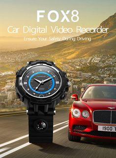 Montre Smart Sport Connectée Wifi Caméra Numérique Enregisteur Vidéo FOX8