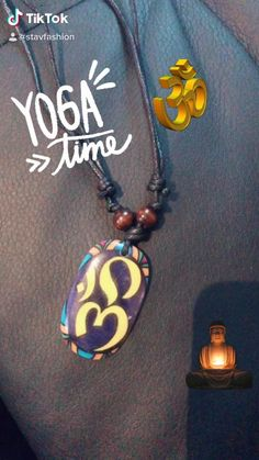 Handmade Accessories, Handmade Jewelry, True Yoga, Yoga India, Washer Necklace, Pendant Necklace, Shape Of Your Body, Yoga Day, Beach Wallpaper