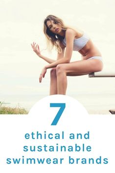 Get ethical this summer with these fabulou sustainable swimwear brands - click h. Sustainable Clothing, Sustainable Fashion, Sustainable Living, Sustainable Products, Women's Dresses, Dresses Online, Ethical Fashion Brands, Fashion Mode, Slow Fashion