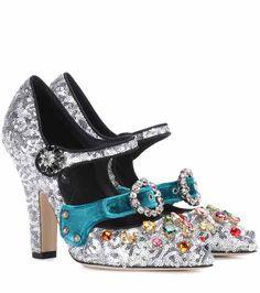 Embellished sequinned pumps | Dolce & Gabbana