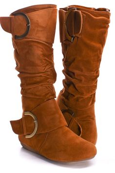 Fun Faux Suede Boot $22