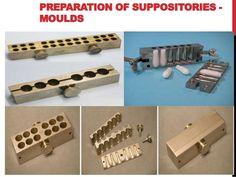 Preparación de supositorios - MOLDES