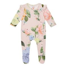 Baker by Ted Baker 'Baby girls' light pink floral print long sleeve sleepsuit S Girls, Baby Girls, Ted Baker Baby, Mother And Baby, Baby Girl Newborn, Latest Fashion For Women, Clothes For Women, Babies Clothes, Kids Outfits