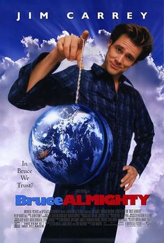 Bruce Almighty starring Jim Carrey, Morgan Freeman and Jennifer Aniston still ranks as I one of my favorite comedy movies. Film Movie, See Movie, Comedy Movies, Movie List, Funny Movies, Good Movies, Awesome Movies, Movies Showing, Movies And Tv Shows