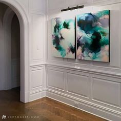 I looove seeing my work in collectors homes! These 2 were sisters and were not separated 🤘🏻🎈 Grateful. Abstract Watercolor Art, Abstract Painters, Flow Arts, Fluid Acrylics, Various Artists, Resin Art, Diy Art, Original Art, Art Gallery