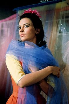 Natalie Wood and tulle.
