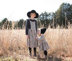 Stripes Sisters by Karla Jean Davis | MilK