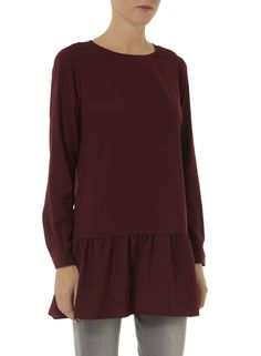 Photo 2 of Berry Crepe Pephem Tunic