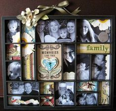 Websters Family Printers Tray  By: DreamScrap224