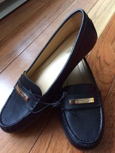 8bcca198c5984 New Michael Kors Everett Loafer Black Womens 7M #fashion #clothing #shoes  #accessories