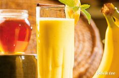 Banán-vanília smoothie  reggeli  hétfő  180 Kcal