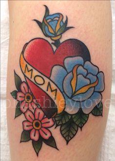 Vintage tattoo by Ashley Love