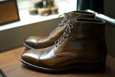 Made To Order    Carmina Model #80179 Soller Last boots in Cuero Cordovan