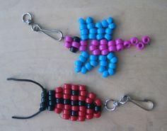 Kakkosluokkalaisten tekemiä helmitöitä. www.kolumbus.fi/mm.salo Pony Bead Crafts, Pony Beads, Hobbies And Crafts, Helmet, Children, Jewelry, Hama, Bead, Young Children
