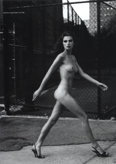 """wantonwomanmeohmy: """" by Helmut Newton . On my Road . Helmut Newton, French Models, Img Models, Photo Black, Brown Hair Colors, Photography Women, Lifestyle Photography, Fashion Photography, Go Outside"""