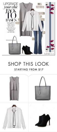 """""""TwinkleDeals - Basic Chic"""" by tatajrj ❤ liked on Polyvore"""