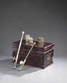 An opium-smoking set Qing Dynasty