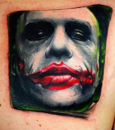 joker tattoo  by ~carlyshephard