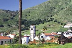 Small town of Tegueste on Tenerife