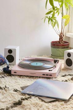 """Audio-Technica X UO – Plattenspieler """"AT-LP60"""" in Rosa"""