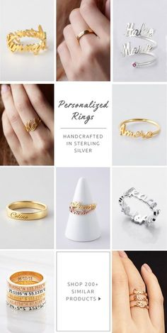 Name Rings • Engraved Name Rings • Script Custom Name Ring • Engraved Name Bar Ring • Couple Name Ring • Engraved handwriting ring • Custom handwriting ring • Personalized jewelry • Rings for friends • Minimalist jewelry • Memorial jewelry • christmas gift ideas for mom • christmas gifts for best friends • best birthday gifts for friends • birthday gift for mother • Anniversary gift for her • wedding engagement gifts