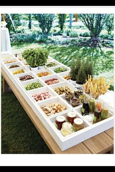 Salad bar (I dont know where I saw this pic)