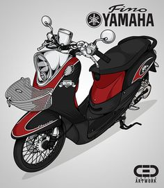 Yamaha Fino on Behance