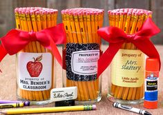 Back to School Labels and Teacher's Gifts by Modern Moments Designs via Made by a Princess