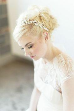 Lela Rose Tompkins Square wedding dress | Adonye Jaja Photography | see more on: http://burnettsboards.com/2014/03/8-artistic-bridal-styles/