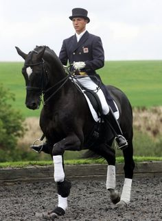 """""""...If anything that is tense or spooky I always put it onto the Nupafeed Magnesium Supplement for Horses..."""" Andrew Gould - International Dressage Rider and Trainer"""