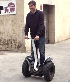 I WILL have a Segway...