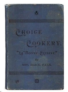 1890-ANTIQUE-COOK-BOOK-Victorian-Household-Cookery-RECIPES-Cuisine-SCOTLAND-Rare