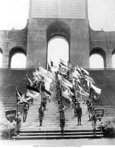 1932 Olympics at the Los Angeles Coliseum