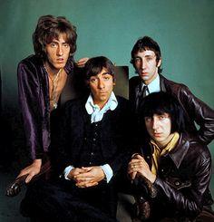 Keith Moon / John Entwistle / Pete Townshend / Roger Daltrey  THE WHO 1968