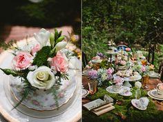 vintage inspired wedding - photo by Matt and Ashley Photography http://ruffledblog.com/whimsical-wonderland-shoot