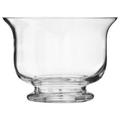 """Threshold™ Footed Glass Bowl - 6"""" tall"""