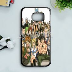 Fairy Tail Manga Collage Samsung Galaxy S7 Edge Case | armeyla.com
