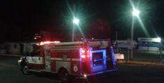 <p>Cuauhtémoc, Chih.- Dos personas lesionadas con quemaduras fue el saldo que arrojó un fuerte flamazo registrado en un expendio de gas ubicado
